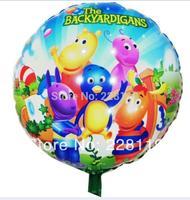 Hot Cartoon Anime High Quality Kids Backyardigans Circular Balloons Classic Toys Birthday Gift For Children Balloon
