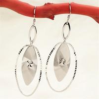 YSM Brincos Grandes, 925 Sterling Silver earrings, High Quality Guarantee 100% Silver, YSM-SR0002