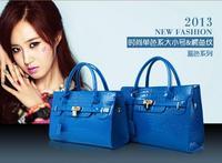 2015 fashionable woman's bag Tassel element women's bag women 's handbag the crocodile grain Women shoulder bag W094