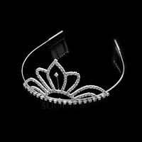 10 PCS/LOT New hair headband women bride crown bridal wedding crystal hair Rhinestone TIARA 4 Types 11551
