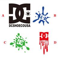 drop shipping  Reflective car stickers   DC LOGO    KEN BLOCK   Drift King