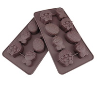 Easter Theme  8  Even Rabbit, Egg and Gift  Silicone Mold, Silicone Chocolate Mold,Ice Mold,Pudding Mold