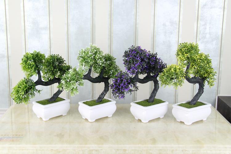 Achetez en gros artificielle arbre d 39 int rieur en ligne des grossistes artificielle arbre d - Small plants for indoors ...