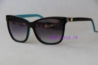 Luxury gem sunglasses 3292 elegant square sunglasses fashion personality anti-uv lunette de soleil