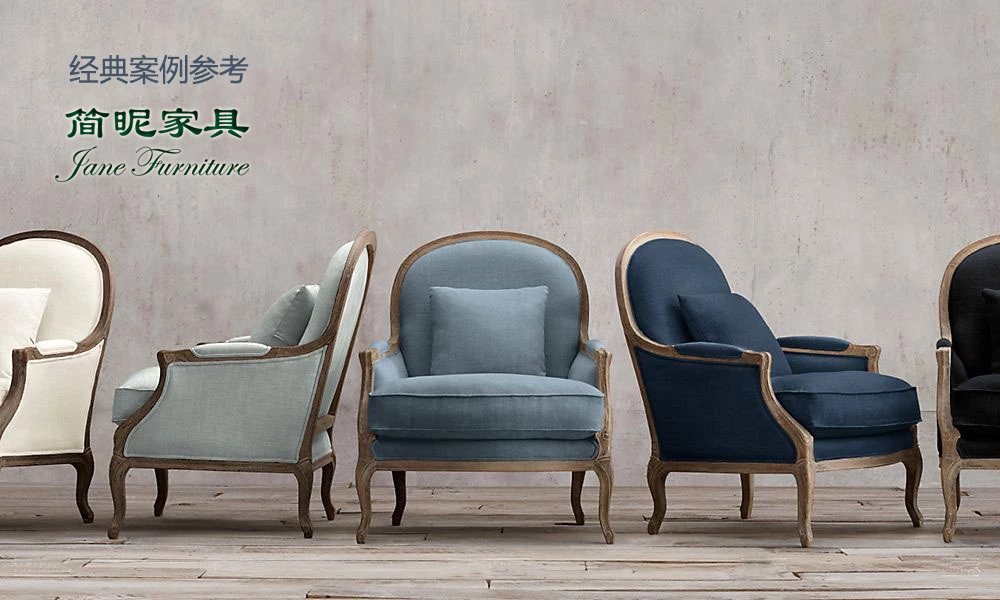 Export oak casual round back salon chair armrest between the first layer of leather sofas template designer-jane factory(China (Mainland))