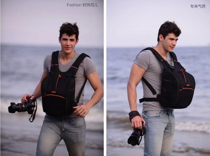 outdoor stylish professional DSLR backpack slr camera bag(China (Mainland))