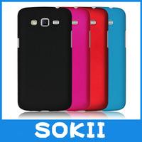 Sokii,For Samsung Galaxy Grand2 G7106 G7108 hard rubber cover,Hybrid Hard Case Cover For Galaxy Grand 2 back cover+Screen Film