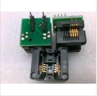 150mil narrow-body SA602A/SOIC8/SOP8 DIP8 barchester burn IC test adapter socket programmer ic test seat adapter(China (Mainland))