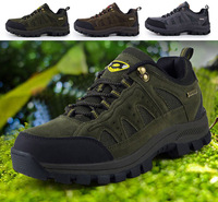 New 2014 Sport Leather Outdoor Shoes For Man Winter Waterproof Hiking Shoes Men Mountain Climbing Boots Botas Zapatos Hombre