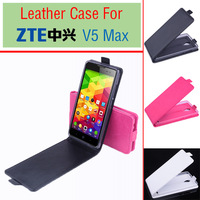 ZTE V5 Max Up and Down Flip  PU Case Cover For ZTE V5 Max Smartphone Free Shipping
