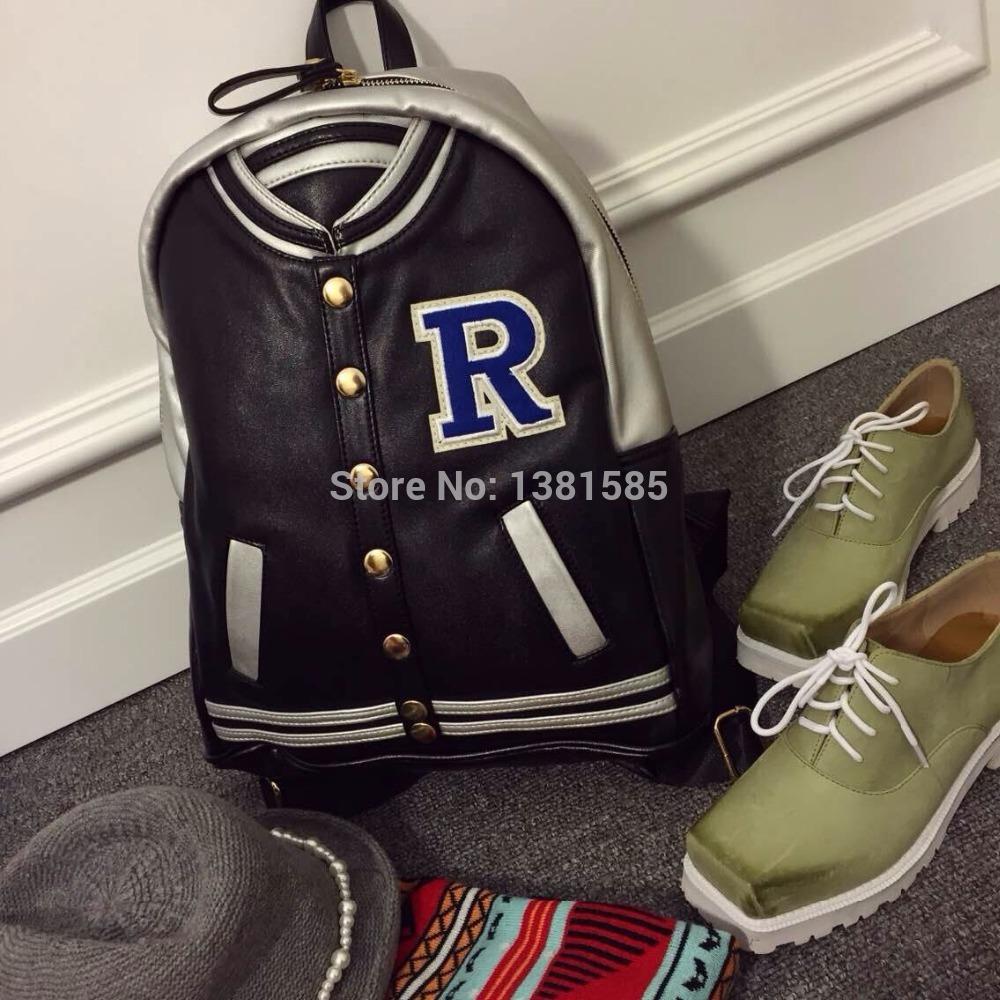 ... school bag baseball jacket backpack item type backpacks backpacks type