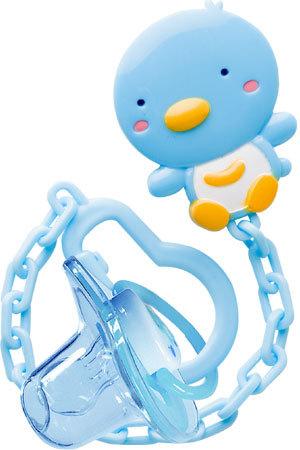 Specials 11106 blauwe pingu  239 n pasgeboren baby fopspenen   fopspeen    Newborn Baby Penguin