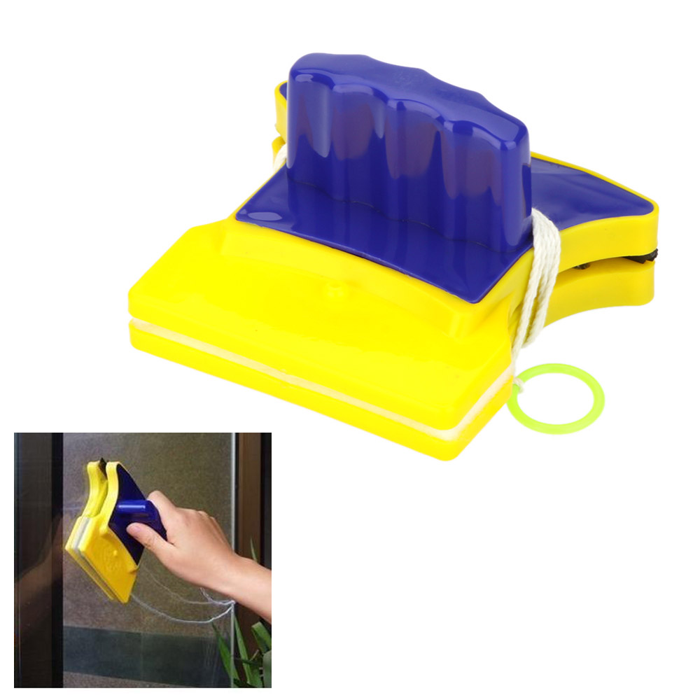 Magnetic Double-sided Window Glass Cleaner Wiper Scraper Brush Cleaning Tools Kitchen/Bathroom(China (Mainland))