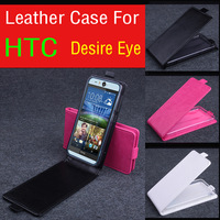For HTC Desire EYE Up and DOwn  Leather Moblie Phone PU Flip Case Cover Free Shipping