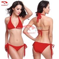 2015 New Sexy Bikini European style Vintage Biquini Swimwear Women Fashion Swimsuit  Summer Holiday Bathing Suit
