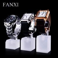 Free Shipping Luxury Watch Transparent C Circle Organic Acrylic display items watch holder 3 pcs a set