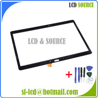 Parts For Black Samsung GALAXY Tab S T800 10.5 inch Digitizer Glass Touch Screen Panel Repair Replacement +TOOLS