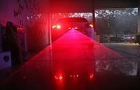 Anti-Collision laser warning light Car Styling LED Waterproof laser-fog anti-fog rain rear-end laser anti-fog Light
