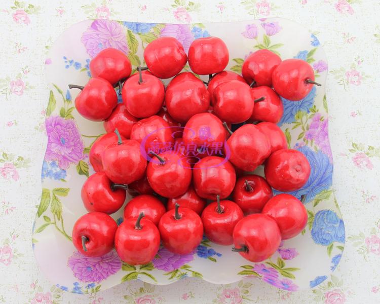 Keuken Decoratie Appel : Miniature Small Red Apple