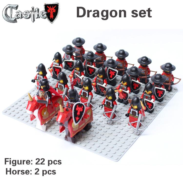 Lego Castle Dragon Knights Castle Knight Dragon Set Mini