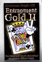 TCC - Entrapment gold II - Magic Trick, Metal stage magic/magic props/as seen on tv High quanlity