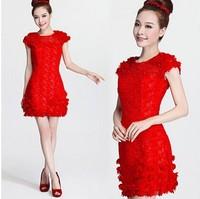 short fashion lace dress
