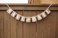 """SAVE THE DATE"" Vintage Wedding photo booth props banner enfeites de casamento garland casamento gift favors-Free Shipping"