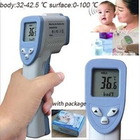 With Package Non Contact Body Infrared Thermometer Digital Termometer Baby IR Termometro Non-contact Temperature Gun