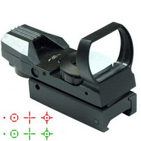 Free shipping!Hunting Tactical Reflex Holographic Red Green Reticle Sight Dot Rail Mount OT8G L0799 T15