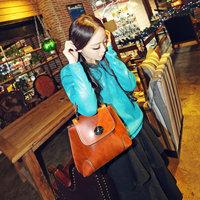 Hot Sale New Arriaval 2015 Casual Shell Women Messenger Bags Fashion Women Handbag Shoulder Bag PU Leather Bags Bolsas Tote