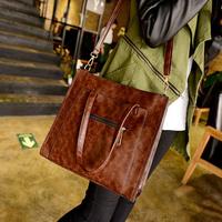 Hot New 2015 Casual Big Composite Bag Women Messenger Bags Fashion Shoulder Cross-body Handbag PU Leather Desigual Bolsas