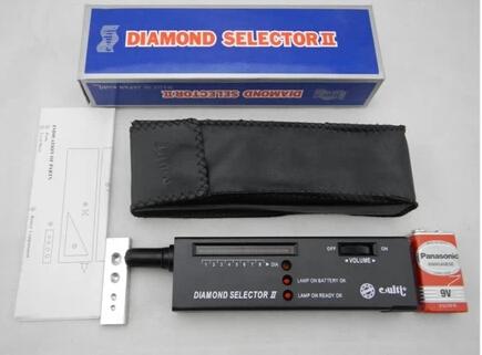Livraison gratuite bijoux outil de diamant détecteur électronique diamant sélecteur de pierres précieuses gemmes Tester II 1 pcs/lote(China (Mainland))