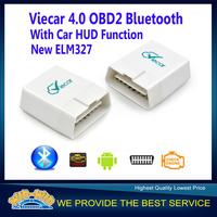 Newest ELM327 Viecar 4.0 OBD2 ELM327 Viecar OBD2 Bluetooth Scanner for Multi-brands with Car HUD Display Function