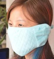Explosion models Japanese plush fur ear warmers Han Xiaoqing new double ball masks lovely warm mask earmuffs combo