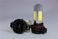 2 x H16 LED 7.5W Lamp car Fog Head Bulb auto Vehicles parking Turn Signal Reverse Tail Daytime Running Lights White