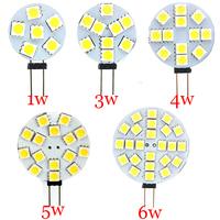 10PCS DC 12V G4 LED Lamp Bulb 1W 3W 4W 5W 6W 5050 SMD Light Corn Bulbs Drop Light Chandelier 5050 SMD Spot light Cool/Warm White