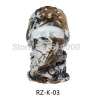 Wholesale New Thermal Fleece Outdoor Winter Cycling riding custom 5 in 1 Balaclava Hood CS Camo Ski face Mask beanie cap hat