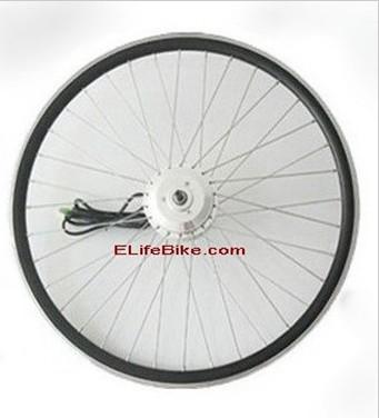 "Black 24V 20"" 26"" 700C 28"" 350W M100 Front Electric Bicycle Bike eBike brushless gear Motor Conversion Kit(China (Mainland))"