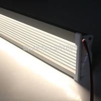 5m(5pcs) a lot, 1m per piece led aluminum profile for corridor and wall, 14mm