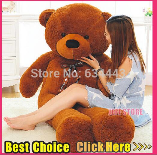 Teddy bear 100cm 120cm 140cm/39'' 47'' 55'' cartoon giant teddy bear plush toys stuffed panda bears plush animals big bear 2015(China (Mainland))