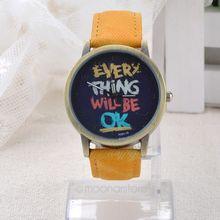 Fashion Jewelry Men women quartz watches with cartoon watch Causal clock female Wristwatches Woman watches LS