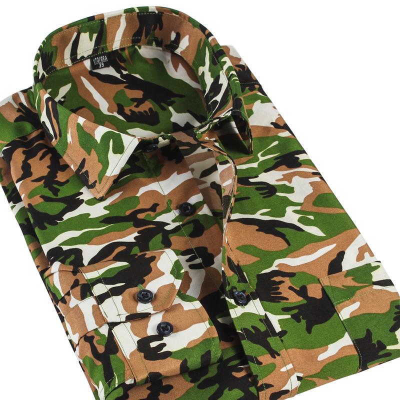 Men Camouflage Shirts 2014