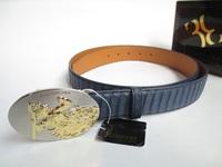 Belt real snakeskin male strap agings hanging buckle male belt