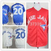 Cheap Sale,Toronto Blue Jays #20 Josh Donaldson Jersey New Men's Baseball Jerseys Accept Mix Order