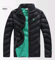 Menswear 2014 Autumn and winter man's jacket coat Male Thickening Overcoat Cotton-padded clothes
