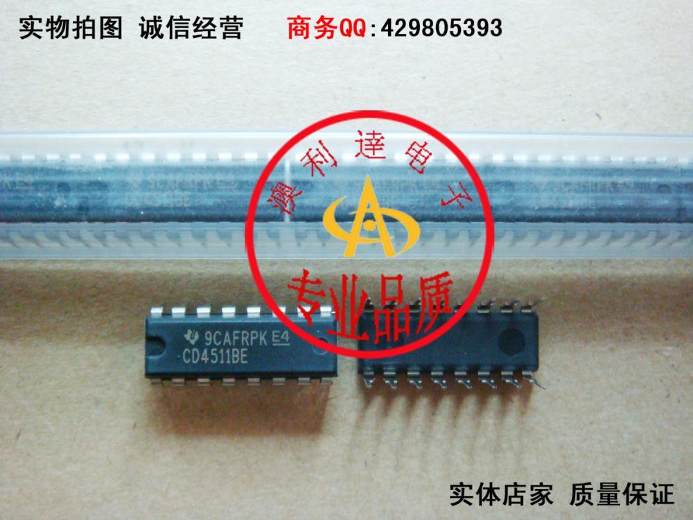 CD4511BE DIP-16 seven-segment code converter drive(China (Mainland))