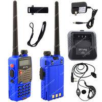 Pofung UV-5RA VHF/UHF Dual Band 136-174/400-520 DTMF CTCSS Two Way Radio  Blue LB0582