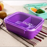 Free shipping japan style Bento Lunch Box Food Large meal boxes school lunch tableware Easy-Open Lids microwave oven fruit