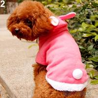 Pet Dog Cat Cute Bunny Clothes Warm Clothes Autumn Winter Puppy Costumes Apparel
