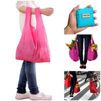 1pc Shopping bags High quality eco-friendly portable folding bag storage fashion tote grocery bags Cheap Free shipping gw001